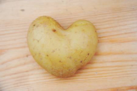 Heart Shaped Potato - An Invitation To Magic!