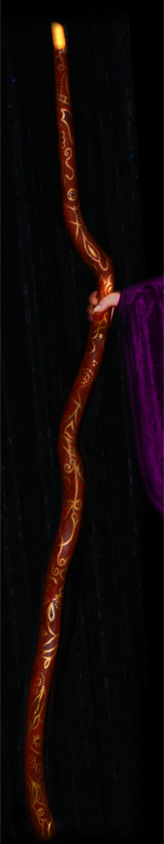 Real Magic Staff for magic spells and rituals
