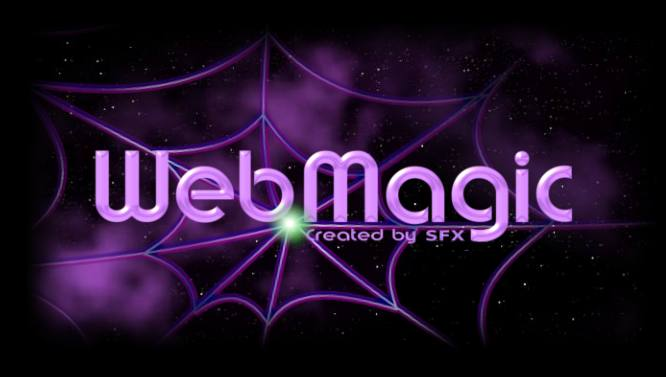 Web Magic Spider Logo